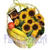 Basket Solar fruits